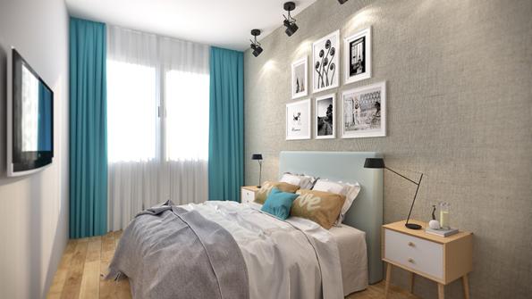 infografia habitacion